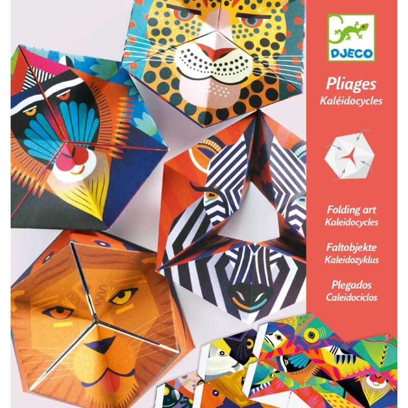 Origami állatkák - Djeco kreatív készlet 6 éves kortól
