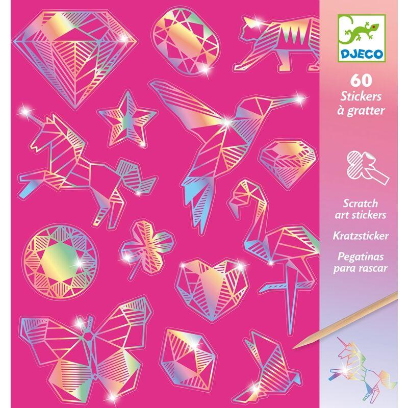 Karckép technika - Gyémánt - Djeco kreatív készlet 6 éves kortól