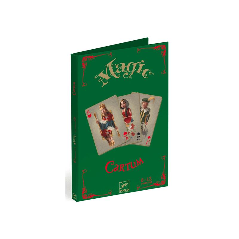 Kártyatrükkök, Djeco bűvészjáték 8-12 éves korig