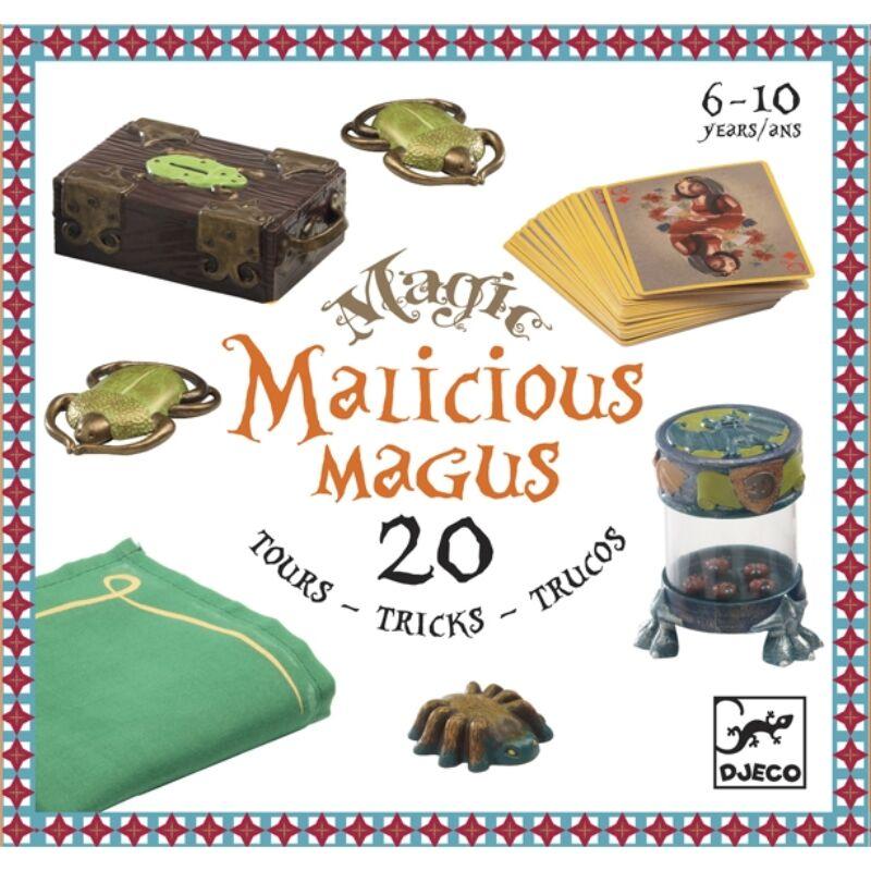 Bűvészkészlet - Malicious magus - 20 trükk, Djeco játék 6 éves kortól