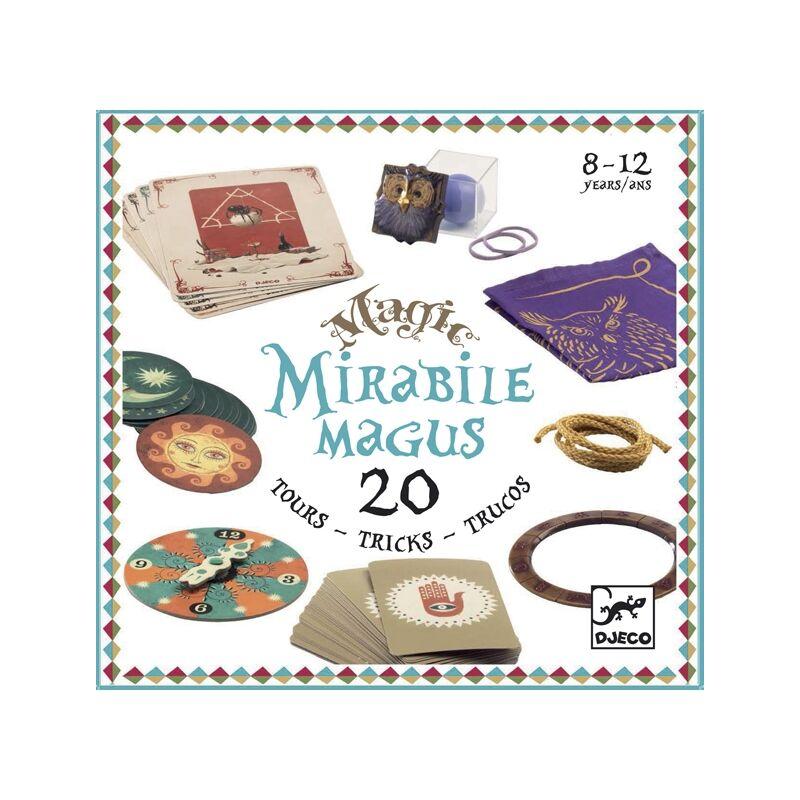 Bűvészkészlet - Mirabile magus - 20 trükk, Djeco játék 8 éves kortól