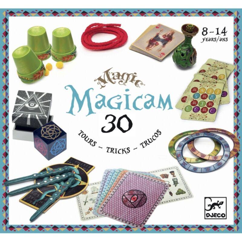 Bűvészkészlet - Magicam - 30 trükk, Djeco játék 8 éves kortól