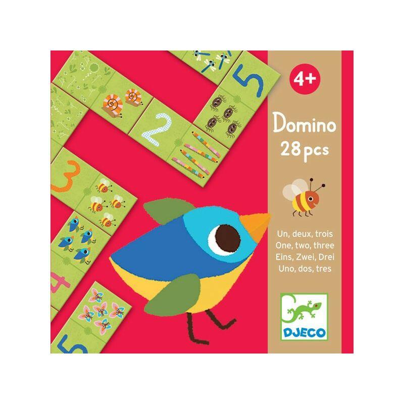 Domino - 1,2,3, Djeco domino 4 éves kortól