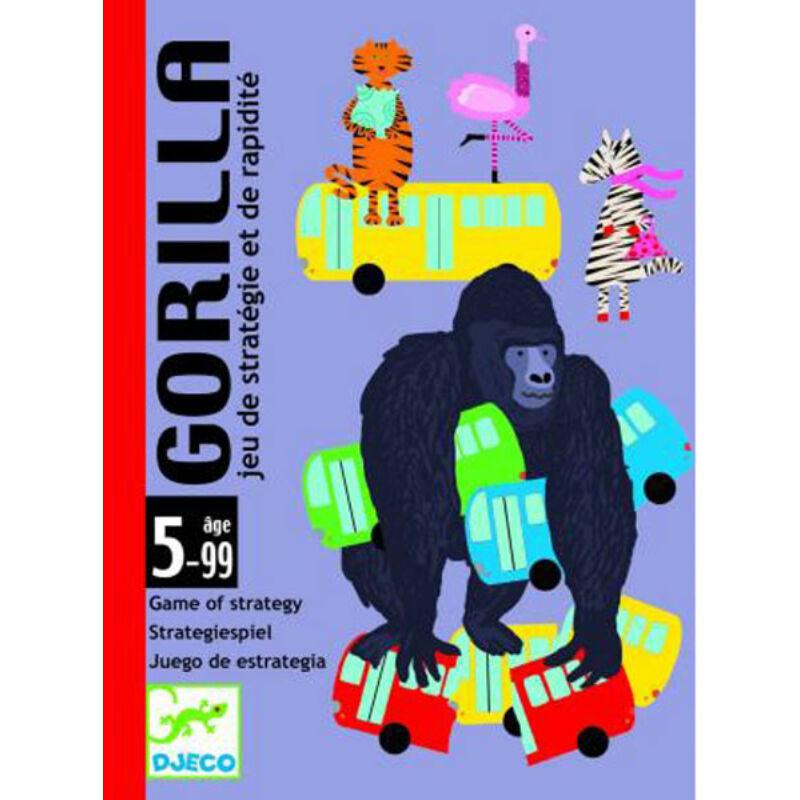 Gorilla - Djeco kártyajáték 5-99 éves korig