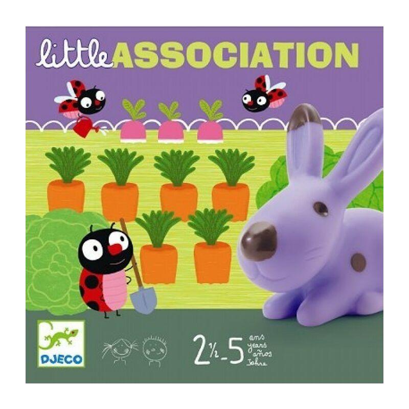 Egy kis asszociáció, liitle association, Djeco társasjáték, 2,5 éves kortól