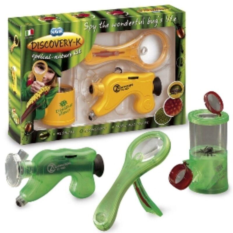 Természetfelfedező szett _ Kit discovery fejlesztő eszközök 6 éves kortól