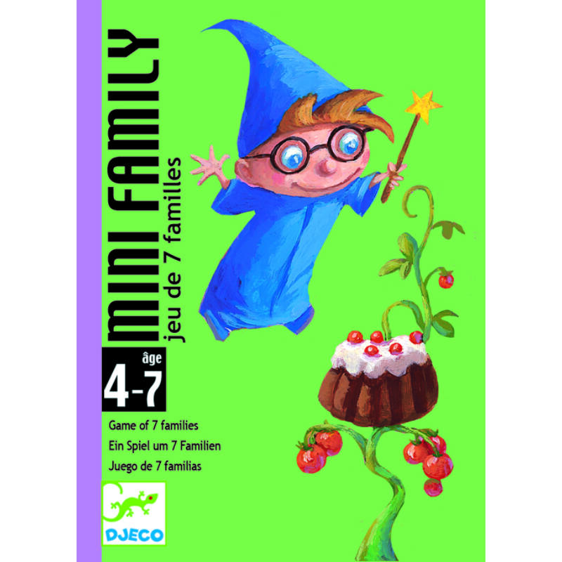 Mini family - Djeco kártyajáték 4-7 éves korig