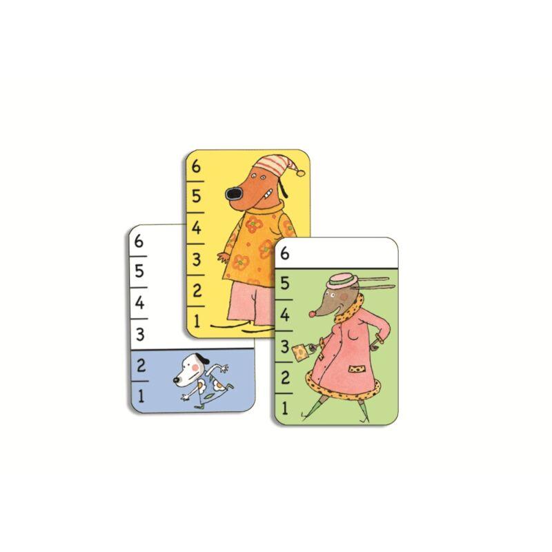 Számos kártyajáték kicsiknek - Djeco kártyajáték 3-6 éves korig