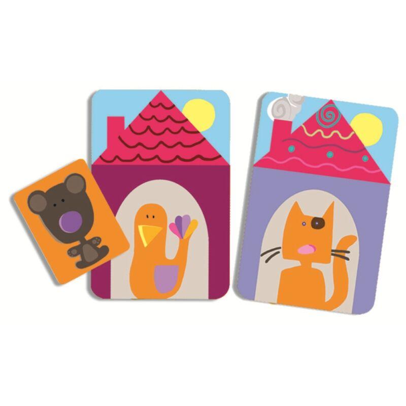 Kérdezz, felelek - Djeco kártyajáték 4-7 éves korig