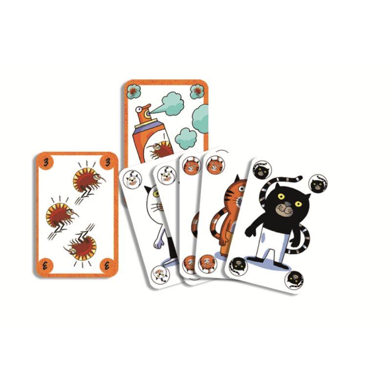 Párosító, gyorsasági kártyajáték - Djeco kártyajáték 6-99 éves korig