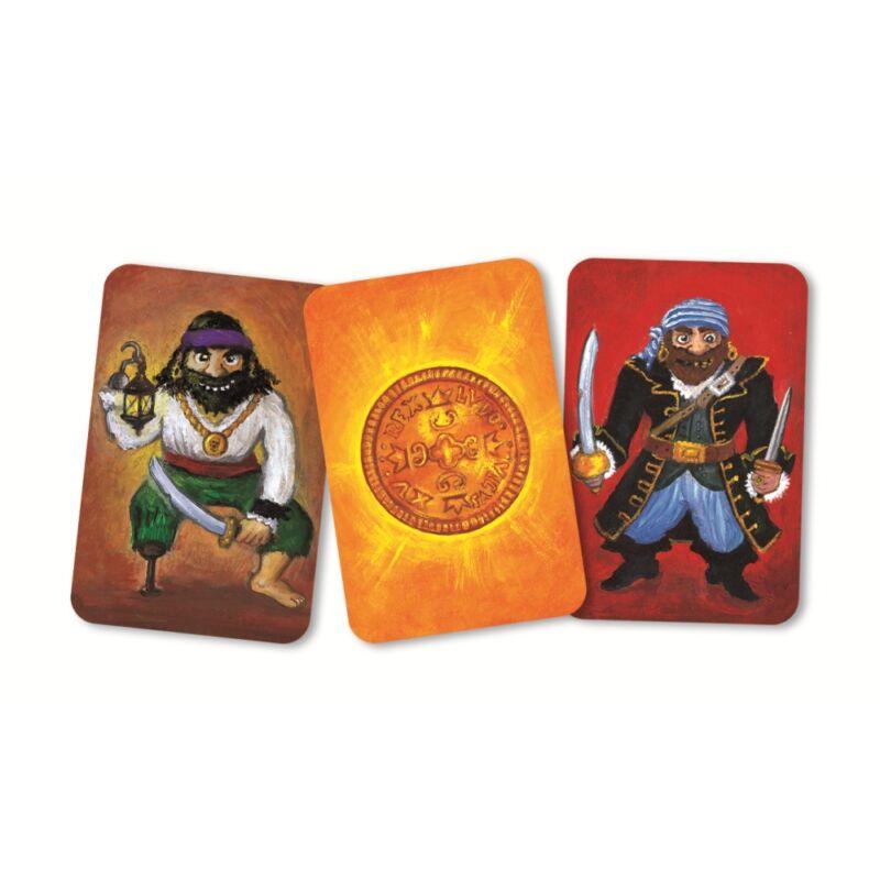 Taktikai kártyajáték - Piratatak, Djeco kártyajáték