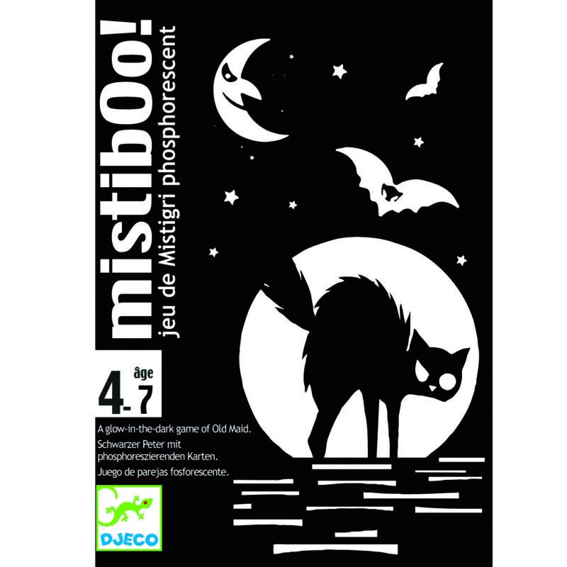 Mistibooh - misztikus Djeco kártyajáték 4-7 éves korig