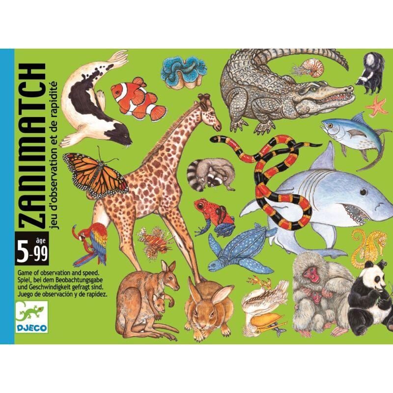 Zanimatch - kártyajáték, Djeco kártyajáték 5 éves kortól