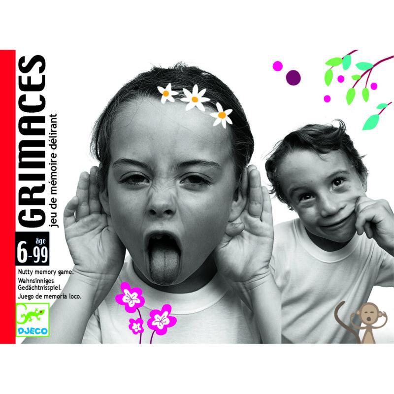 Grimaszok - Grimaces- Djeco utánozó, kitaláló játék 6 éves kortól