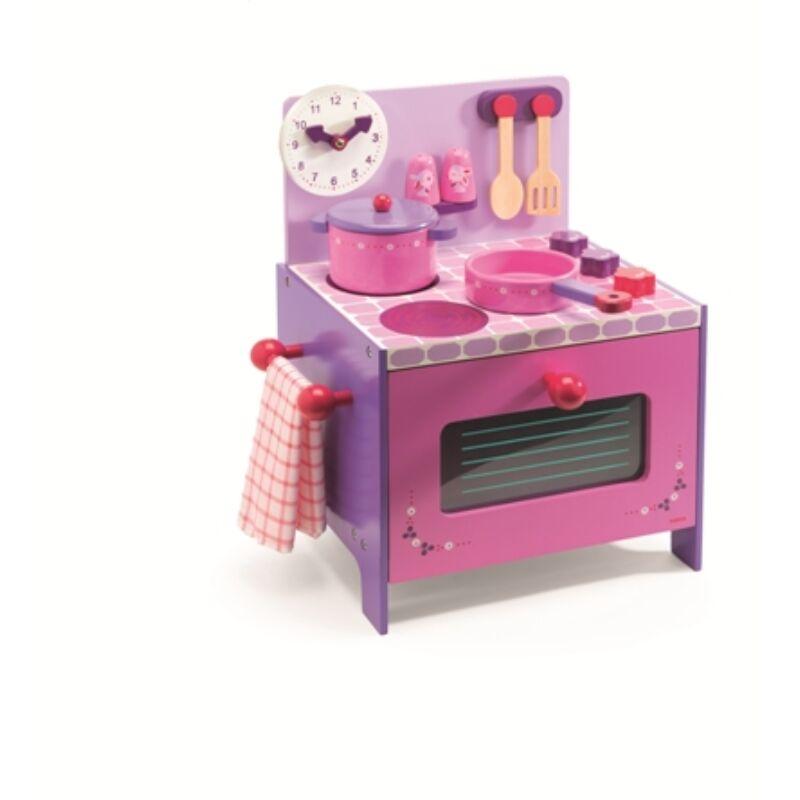 Violette tűzhely - Violette's cooker, Djeco szerepjáték, 4 éves kortól