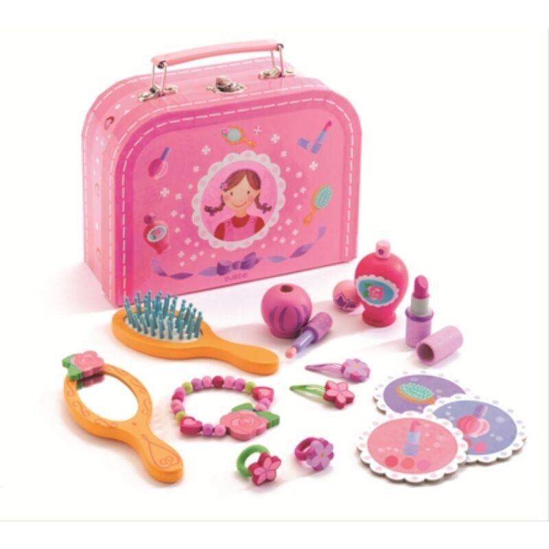 Piperekészlet - My vanity case - Djeco szerepjáték 4-8 éves korig