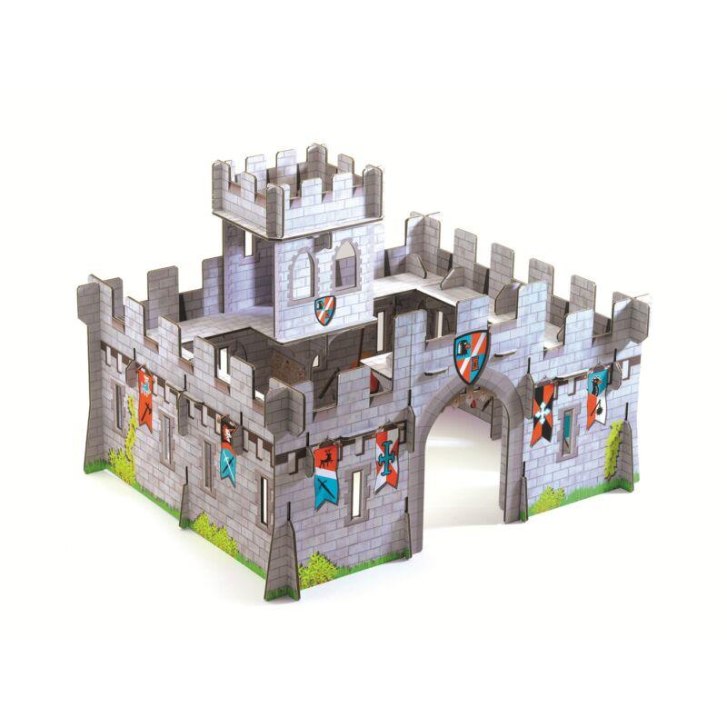 Djeco Lovagvár kartonból 3D,  4-12 éves korig