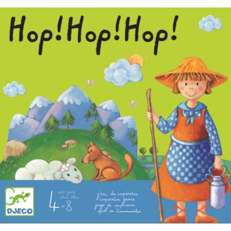 Hop!Hop!Hop! - Djeco társasjáték 4 éves kortól