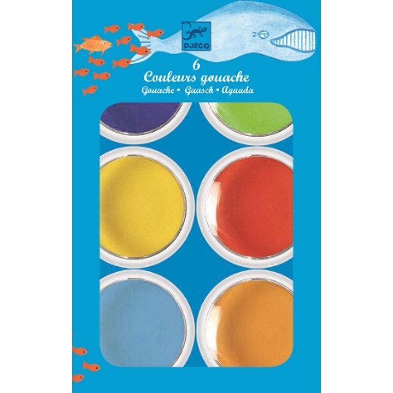 Óriás festék, 6 színű_Djeco