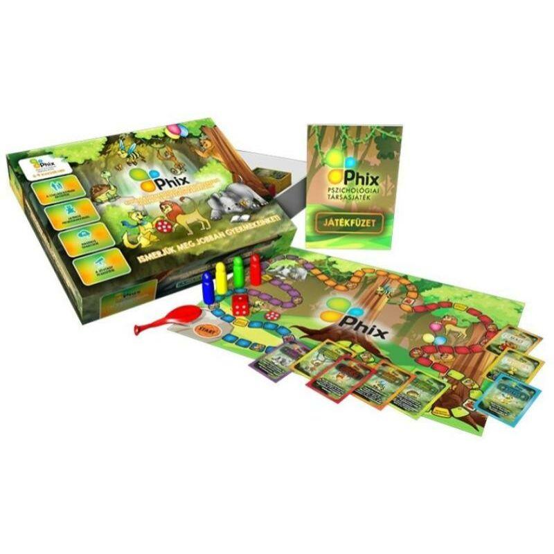 Phix kommunikációs, pszichológiai társasjáték 6-9 éves gyerekeknek