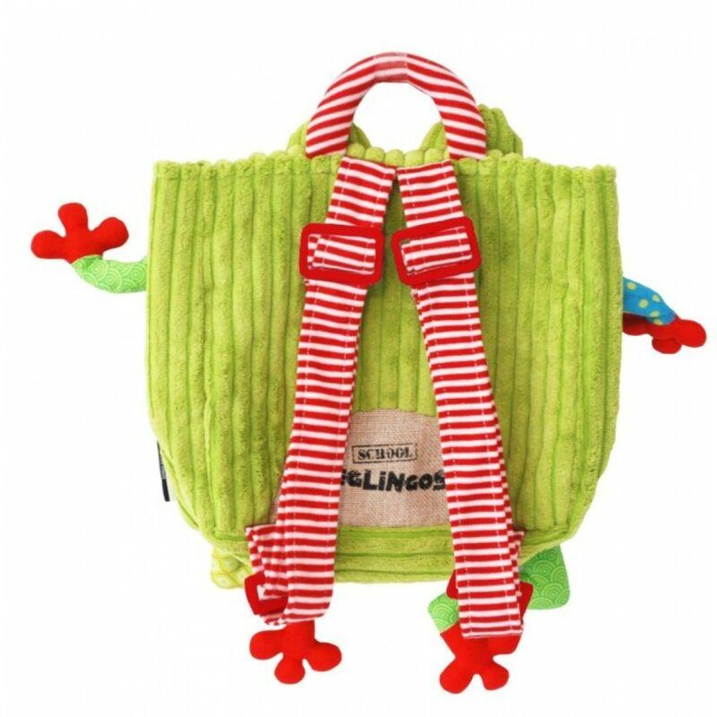 Kroakos béka hátizsák - Deglingos hátizsák 3 éves kortól