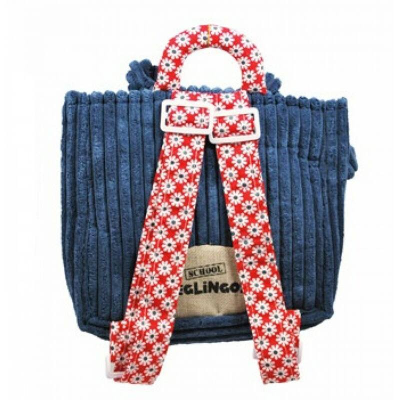 Hippipos víziló hátizsák - Deglingos hátizsák 3-6 éves korig