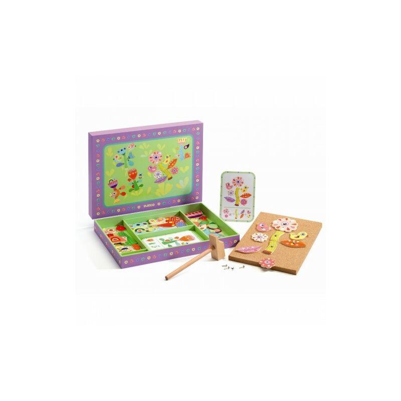 Kalapálós játék - Kert - Djeco fejlesztő játék 4 éves kortól
