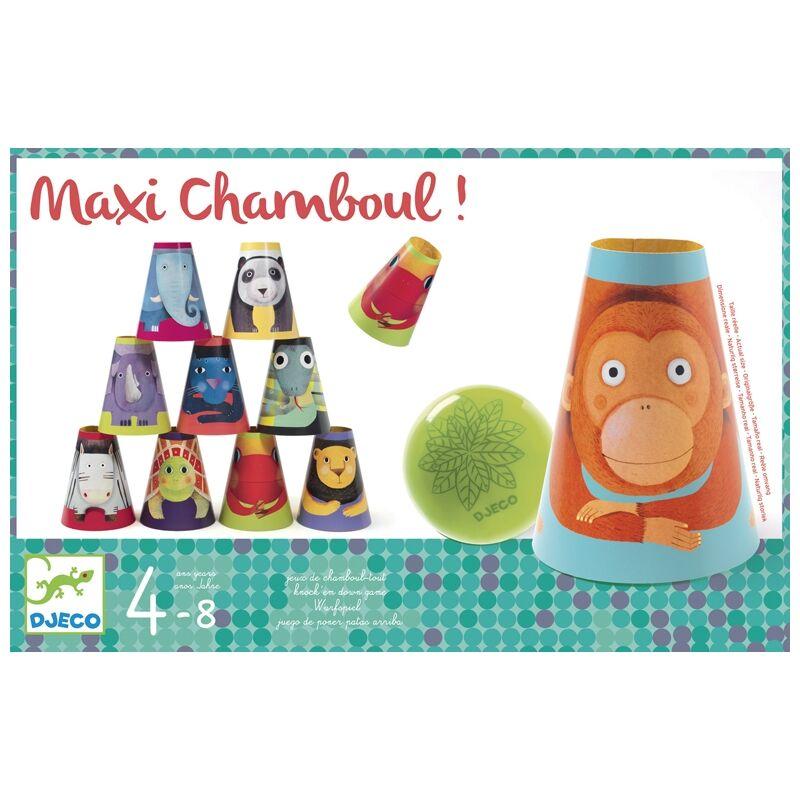 Maxi chamboul - Célzó játék - Djeco fejlesztő játék 4-8 éveseknek