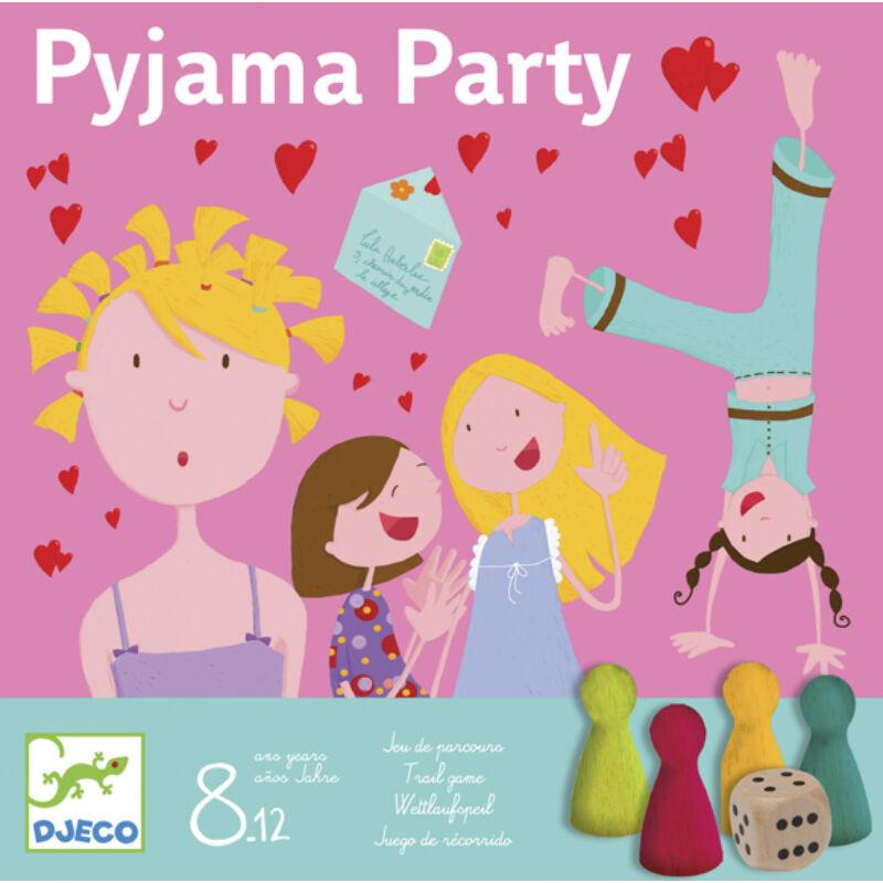 Pyjama Party - Djeco társasjáték 8-12 éveseknek