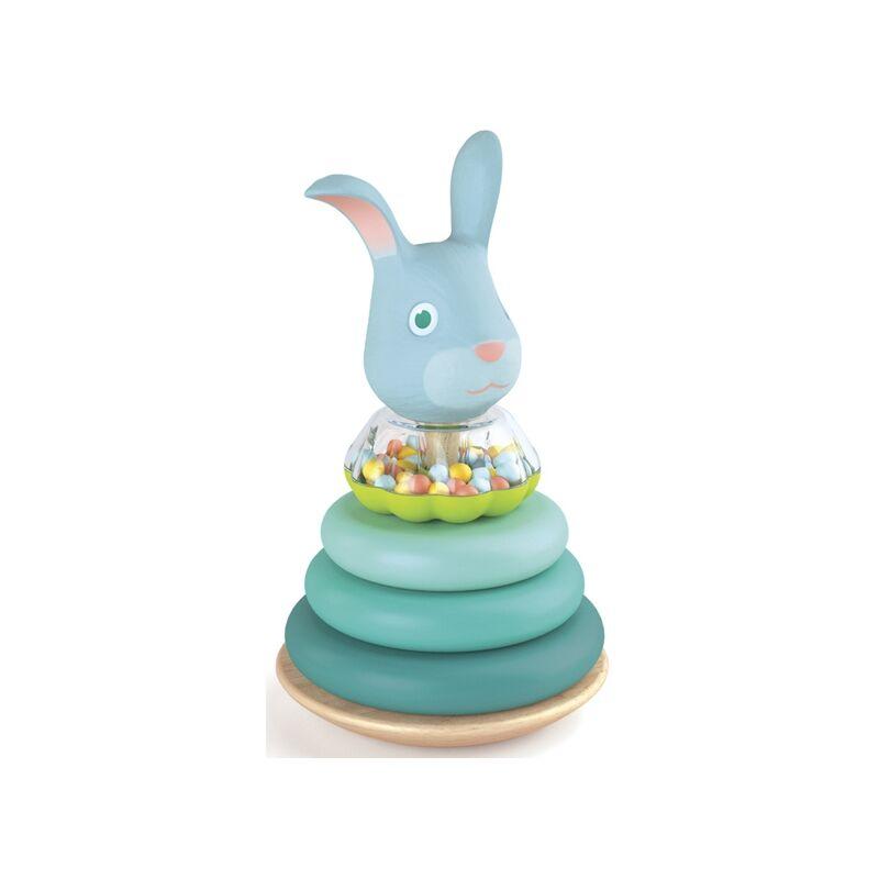 Korai fejlesztő- Montessori nyúl - Djeco fejlesztő játék 1-3 éves korig