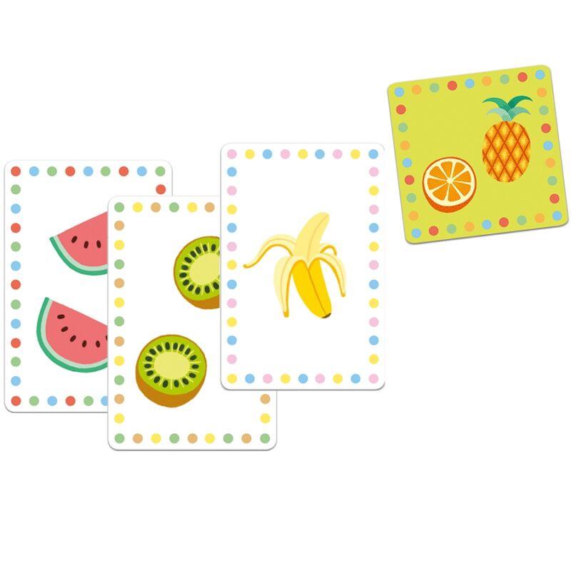 Smoothie kártyajáték - Djeco kártyajáték 6-99 éves korig