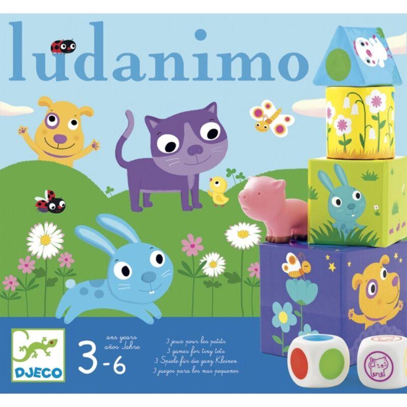 Ludanimo, Djeco klasszikus társasjáték 3-6 éveseknek