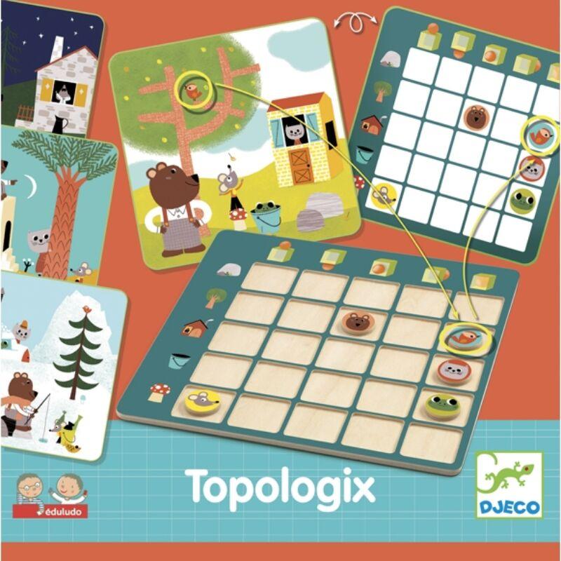 Fejlesztő játék - Eduludo Topologix - Djeco fejlesztő játék 4-6 éves korig
