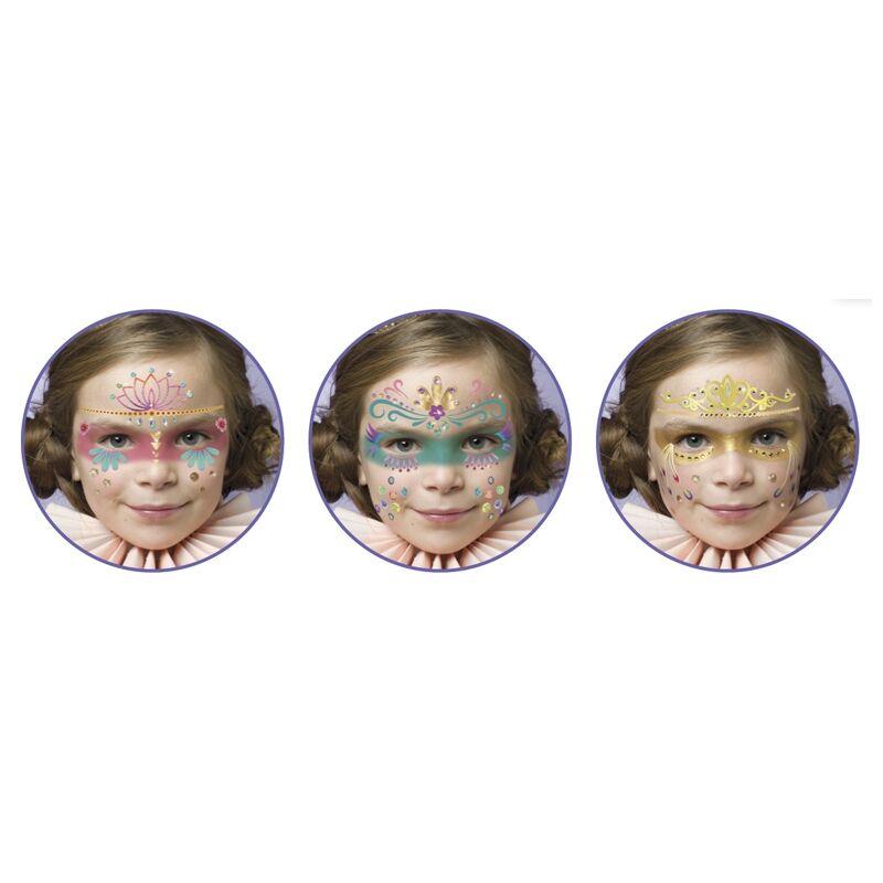 Arcfestés, díszítés - Hercegnők, Djeco kreatív készlet 3 éves kortól