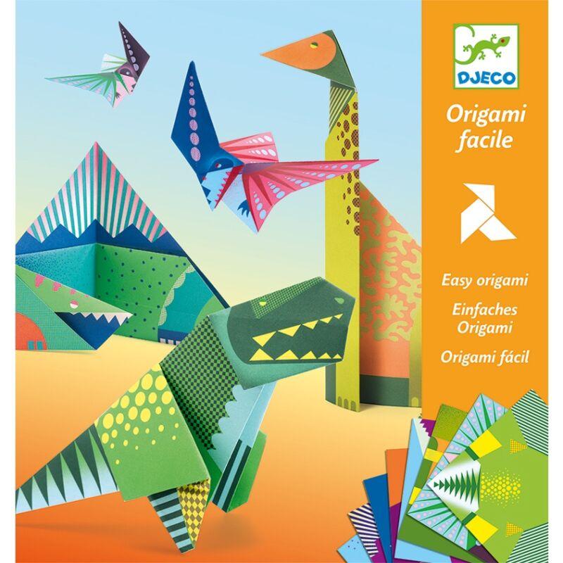 Origami: Dinoszauruszok, Djeco kreatív készlet