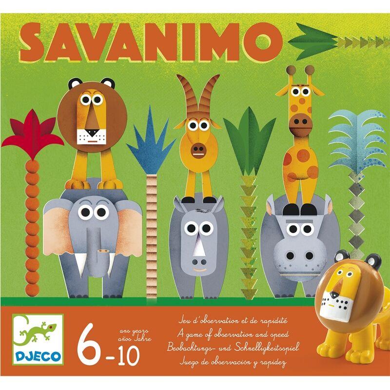 Vadászat - Savanimo - társasjáték, Djeco társasjáték