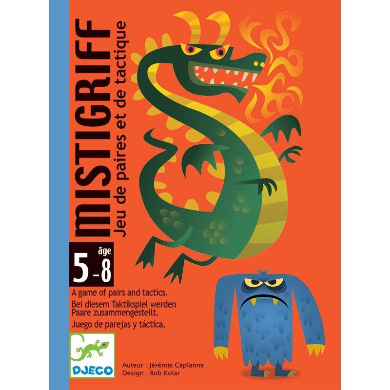 Kártyajáték - Szörnyecskés - Mistigriff, Djeco társasjáték 5-8 éves korig