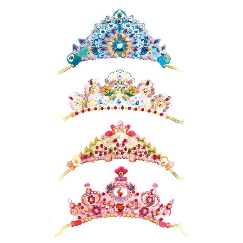Csináld magad! - Hercegnők fejdísze - Djeco kreatív készlet 5 éves kortól