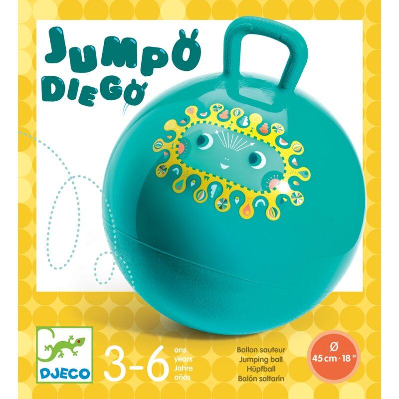 Ugrálólabda - Jumpo Diego - Jumpo Diego, Djeco mozgásfejlesztő játék