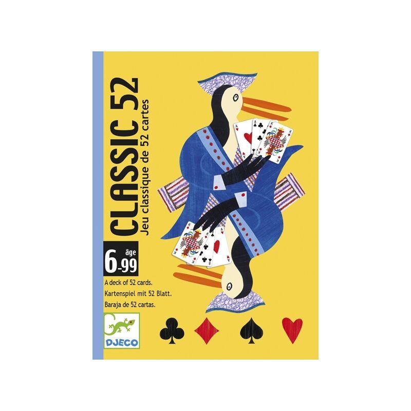 Kártyajáték - Klasszikus francia kártya, Djeco kártyajáték 6 éves kortól
