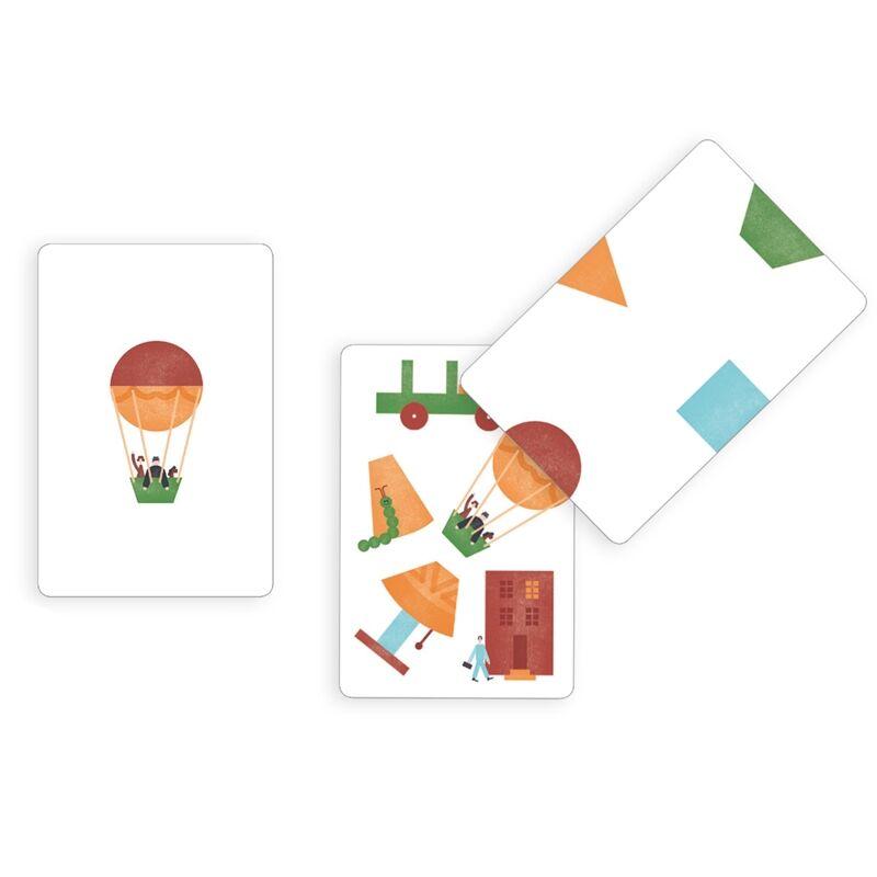 Kártyajáték - Kotakote, Djeco kártyajáték 6-99 éves korig