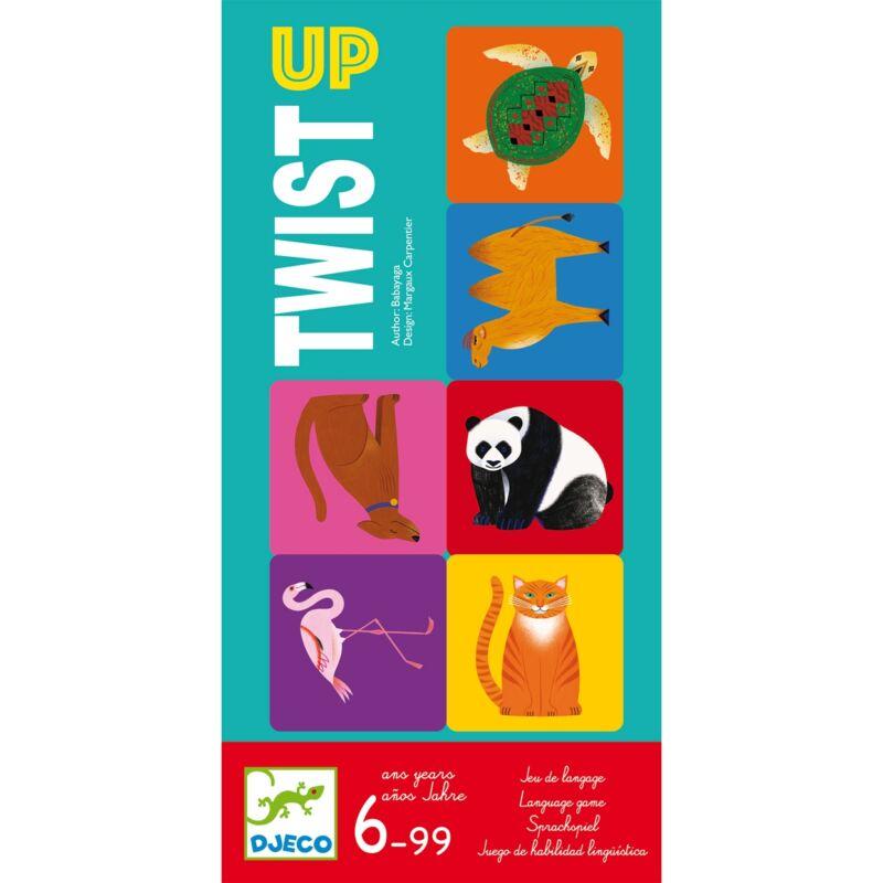 Társasjáték - Twist up, Djeco társasjáték 6 éves kortól