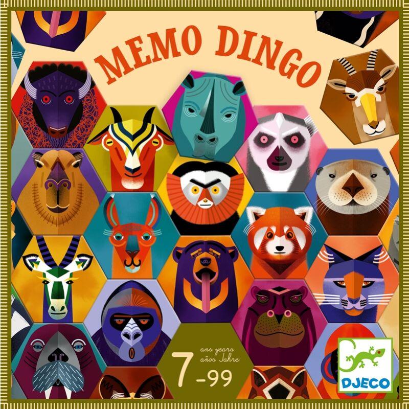 Memo Dingo, Djeco memóriajáték 7 éven felülieknek