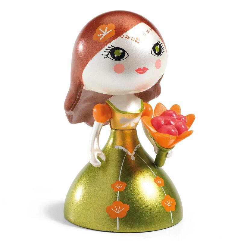 Hercegnő - Metál Fedora - Djeco Arty Toys figura 4 éves kortól