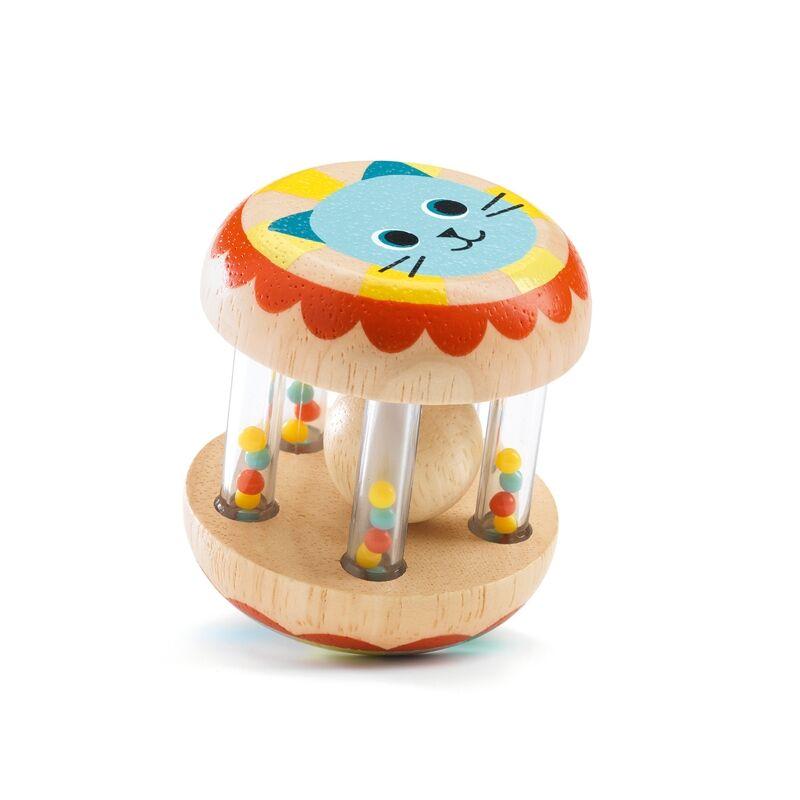 Bébicsörgő - Cicapofis, fejlesztőjáték, 0-2 éves korig