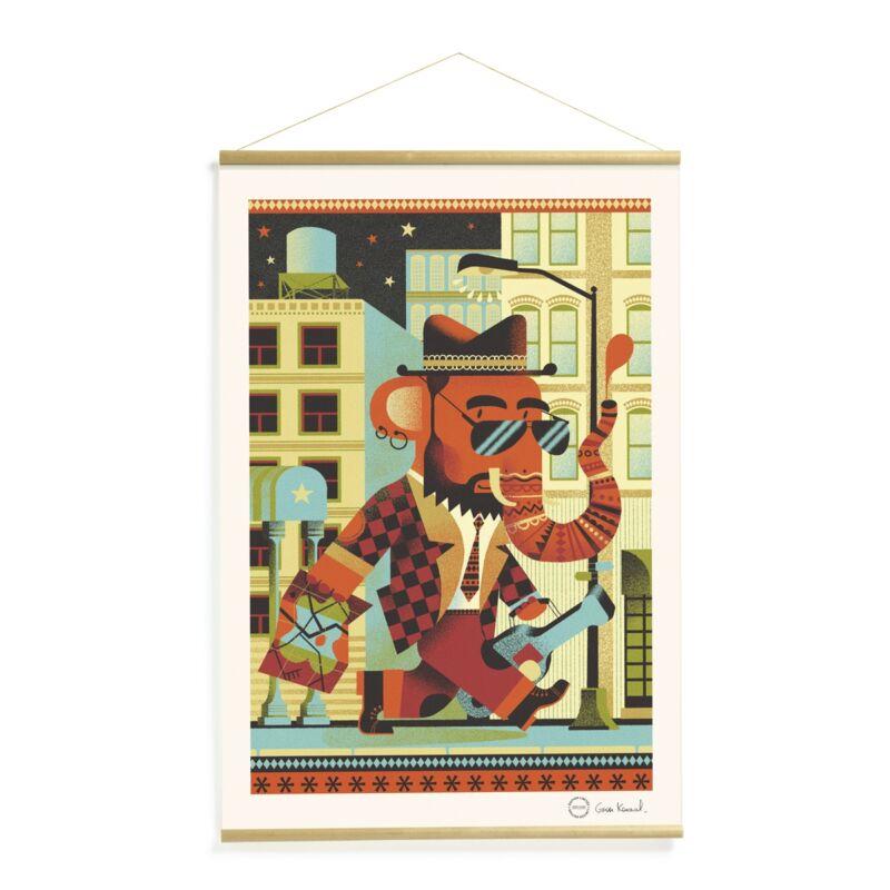 Falikép - Brooklyn, Djeco dekoráció 0-99 éves korig