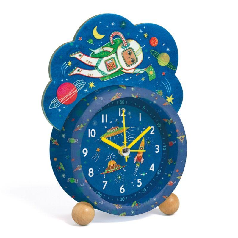 Ébresztőóra - Űróra, Djeco dekoráció 5 éves kortól