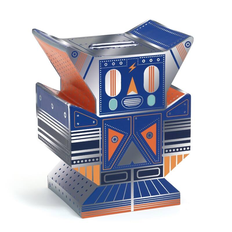 Persely - Robot - Djeco dekoráció