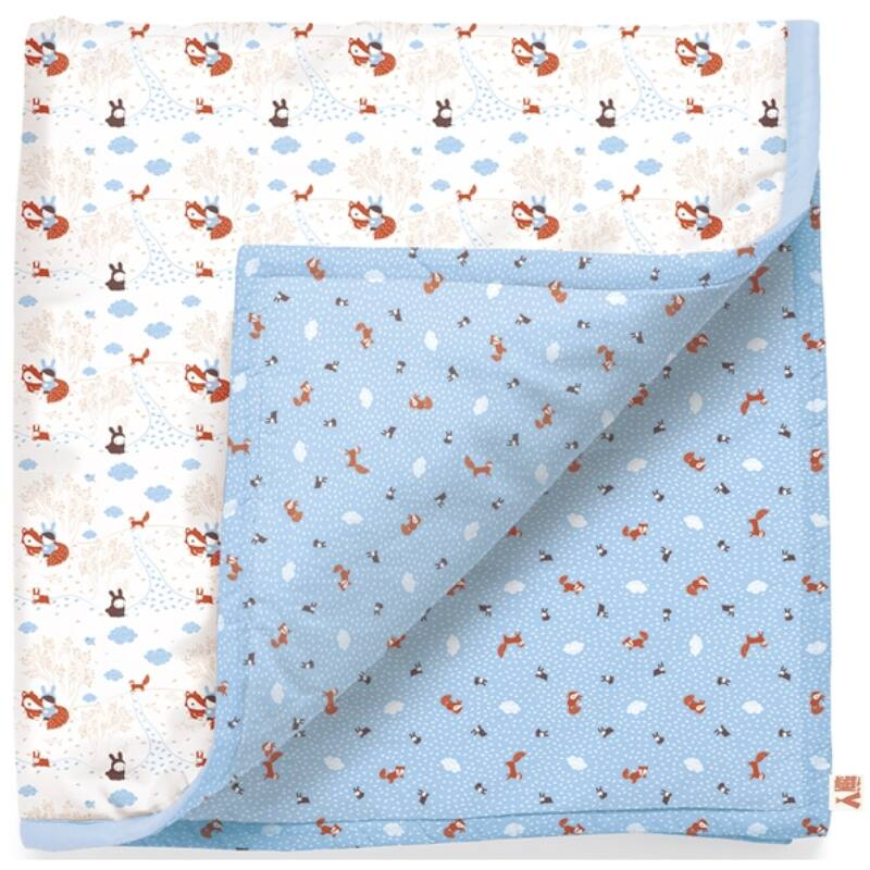 Bébitakaró - Nyuszi és róka, Djeco dekoráció 0-18 hónapos korig