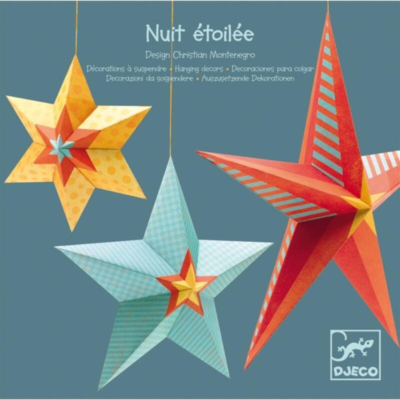 3Ds függődíszek - Csillagok